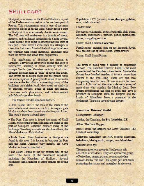 Skullport Info