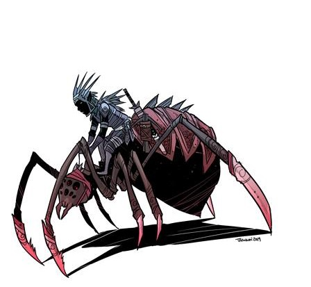 drow spider rider